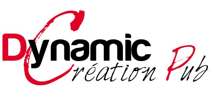 Logo Dynamic Creation Pub Imprimerie En Ligne Rapide Et Pas Cher